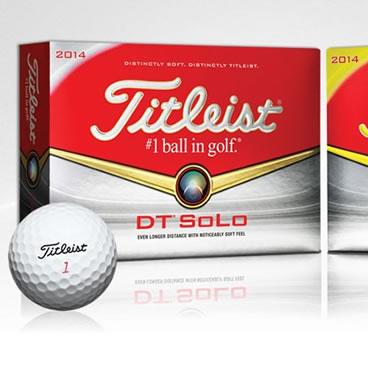 イメージ:タイトリスト DT SOLOゴルフボール
